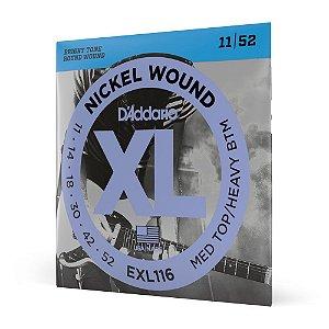 Encordoamento Guitarra .011 D'Addario XL Nickel Wound EXL116