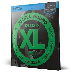 Encord Baixo 5C .045 D'Addario XL Nickel Wound EXL220-5