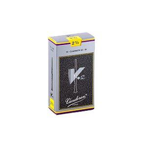 Palheta V.12 2,5 P/clarinete Sib Cx C/10 Cr1925 Vandoren