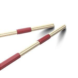 Baqueta Com Varetas Grossas Thunder Rods Promark T-Rods