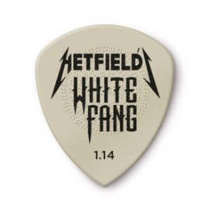 Palheta 1.4mm James Hetfiled White Fang Custom Latinha C/6 Ph122t114 Dunlop