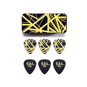 Palheta Maxgrip 0.60mm Eddie Van Halen Amarela Cx C/6 Evhpt04 Dunlop