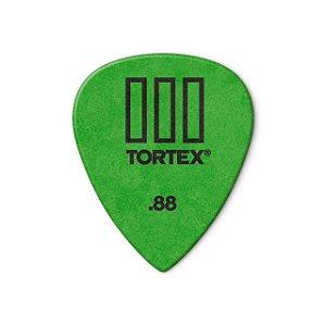 Palheta Tortex Iii 462r 0,88mm Pct C/72 462r.88 Dunlop