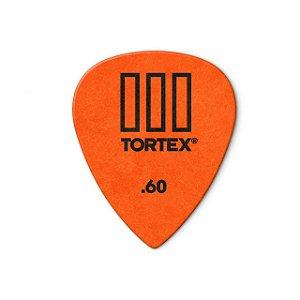 Palheta Tortex Iii 462r 0,60mm Pct C/72 462r.60 Dunlop