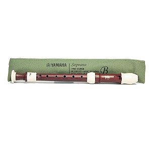 Flauta Yamaha Soprano Barroca YRS312BIII