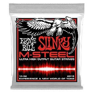 Enc. 010-052 P/ Guitarra Skinny Top Heavy Bottom Slinky M-stell P02915 Ernie Ball