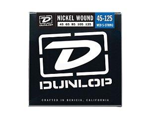 Enc. 045 P/baixo 5c Media Dbn45125 Dunlop