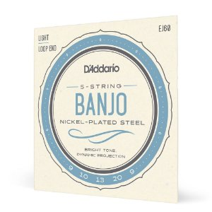 Encord Banjo 5C .009 D'Addario Nickel-Plated Steel EJ60