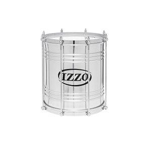 Repinique De Aluminio 10 Pol X 30 Cm C/ 8 Afinadores C/ Pele Leitosa Izzo
