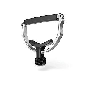 Capotraste NS Cradle De Aço Inoxidável Para Instrumentos De Cordas Prata D'Addario PW-CP-18