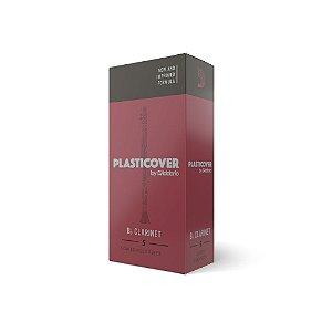 Palheta Clarineta 2.5 (caixa com 5) D'Addario Woodwinds Plasticover RRP05BCL250