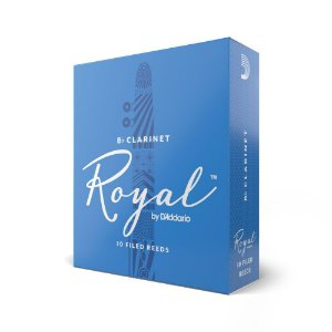 Palheta Clarineta 1.5 (caixa com 10) D'Addario Woodwinds Rico Royal RCB1015