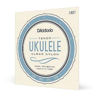 Encordoamento Ukulele Tenor D'Addario Pro-Arté Nylon EJ65T