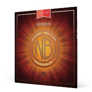 Encordoamento Bandolim .011 D'Addario Nickel Bronze NBM1140