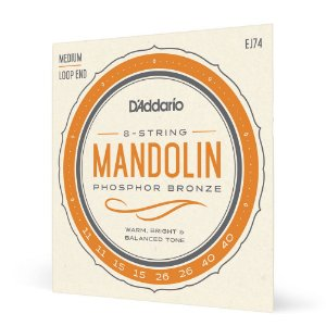 Encord Bandolim .011 D'Addario Nickel-Plated Steel EJ74