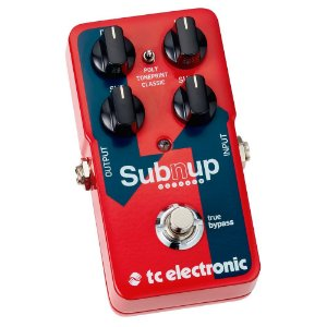 Pedal - SUB N UP OCTAVER - TC Electronic
