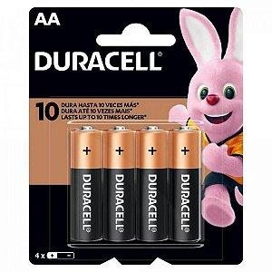 Pilha Alcalina AA MN1500 (Caixa c/48 pilhas)(cartela c/4 pilhas) DURACELL - CXF / 12
