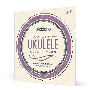 Encord Ukulele Concerto D'Addario Pro-Arté Nylon EJ65C