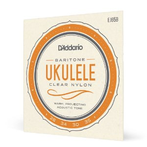 Encord Ukulele Baritono D'Addario Pro-Arté Nylon EJ65B