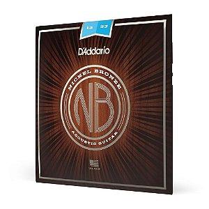 Encordoamento Violão Aço .012 D'Addario Nickel Bronze NB1253