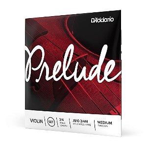Encordoamento Violino D'Addario Prelude J810 3/4M