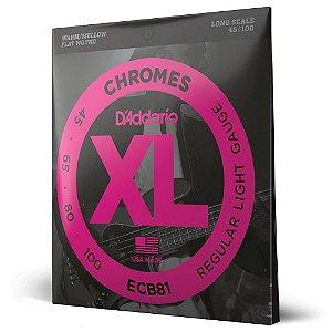 Encordoamento Baixo 4C .045 D'Addario XL Chromes ECB81