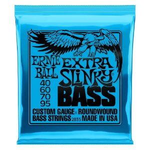 Enc. 040-095 P/ Baixo 4 Cordas Extra Slinky Niquel P02835 Ernie Ball