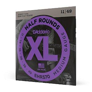 Encordoamento Guitarra .011 D'Addario Half Rounds EHR370