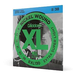 Encord Guitarra .008 D'Addario XL Nickel Wound EXL130