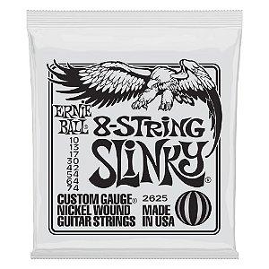 Enc. 010-074 P/ Guitarra 8 Cordas Slinky Niquel P02625 Ernie Ball