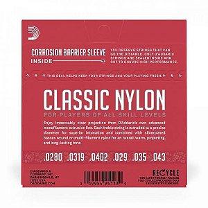 Encordoamento para Violão em Nylon EJ27N D Addario