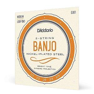 Encord Banjo 5C .010 D'Addario Nickel-Plated Steel EJ61