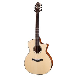 Violao G.audit Cutaway T/solido Spruce B/s Mogno Eq Lr-t Nx Satin Gxe-600 Able Crafter