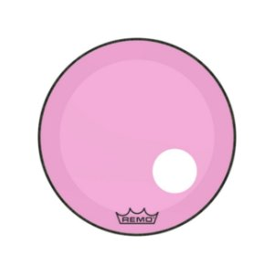 Pele P/ Bumbo 22 Pol Powerstroke 3 C/ Molde P Furo Colortone Transparente Pink P3-1322-ct-pkoh Remo