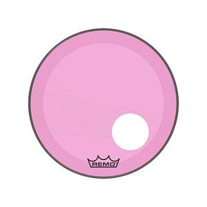 Pele P Bumbo 20 Pol Powerstroke 3 C Molde P Furo Colortone Transparente Pink P3-1320-ct-pkohgn Remo