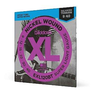 Encord Guitarra .009 D Addario XL Nickel Wound EXL120BT