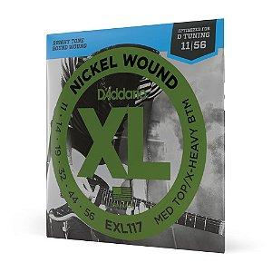 Encordoamento Guitarra .011 D Addario XL Nickel Wound EXL117