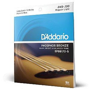 Encord Baixolão 5C .045 D Addario Phosphor Bronze EPBB170-5
