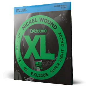 Encord Baixo 4C .040 D Addario XL Nickel Wound EXL220S