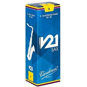 Palheta V21 3 P/sax Tenor Cx C/5 Sr823 Vandoren