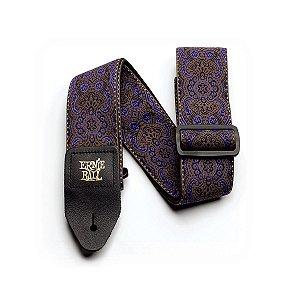Correia Purple Paisley Jacquard P04164 Ernie Ball