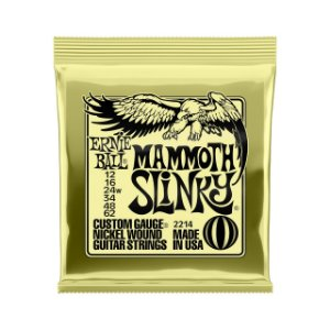 Enc. 012-062 P/ Guitarra Mammoth Slinky (g Encapada) Niquel P02214 Ernie Ball