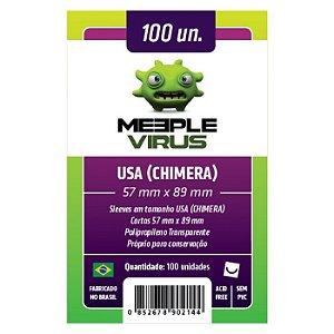 Sleeves 57 X 89 mm  (Usa Chimera) – Meeple Virus