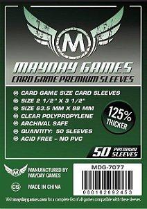 Sleeves Premium 63,5 x 88 mm (Padrão) – Mayday