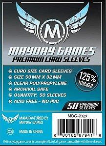Sleeves Premium 45 X 68 mm (Mini Euro) – Mayday