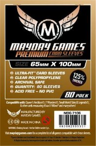 Sleeves Premium 7 Wonders 65 x 100 mm ( Magnum Ultra-Fit) – Mayday