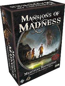 Pré Venda - Memórias Reprimidas, Expansão Mansion of Madness (2ª Edição)