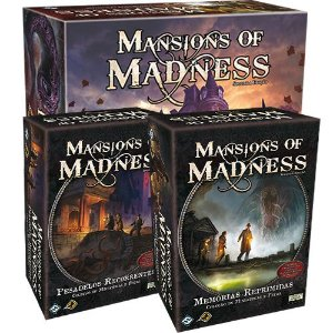 Pré Venda - Mansion of Madness + Expansões + Sleeves