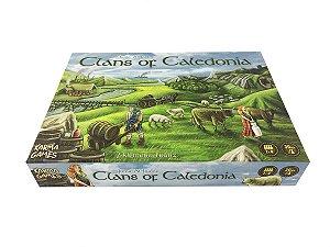 Organizador (Insert) para Clans of Caledonia