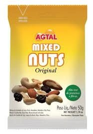 MIXED NUTS AGTAL 50G - CX 1 / 20